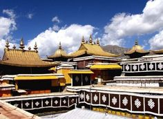 """""""Jinding""""(Golden Top, 金顶) in the Potala Palace."""