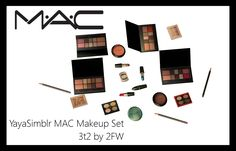Here is YayaSimblr's MAC Makeup Set , for TS2! I did not convert the foundations as their textures flat out did not work for me, but everything has a bunch of colours and I'm really happy with the way everything turned out! n_n I added a few colours here and there to even things out for…