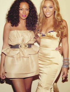 The Knowles sisters.