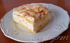 Prajitura Romanian Food, Romanian Recipes, Food Cakes, Vanilla Cake, Cake Recipes, Sweet Treats, Food And Drink, Cooking Recipes, Sweets