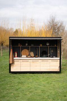 Outdoor Bbq Kitchen, Outdoor Kitchen Design, Outdoor Cooking, Barbecue, Bbq Grill, Outdoor Pergola, Outdoor Pool, Atrium, Outdoor Living