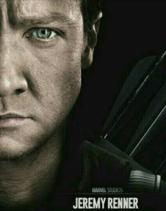 Jeremy Renner as Hawkeye poster