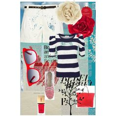 Nautical fashion resort wear
