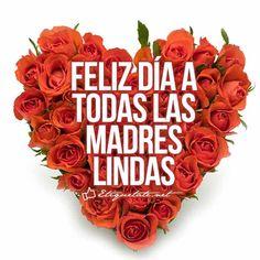 Imagen linda que diga Feliz día a todas las madres lindas