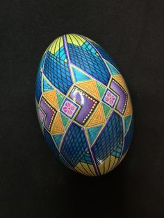 geometric fish design - goose egg — mark e malachowski