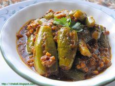 stuffed tindora, Ivy gourd, bharli tondali, maharashtrian bharli tondli, chincha gulachi tondali, Indian spicy curry, curry ivy gourd
