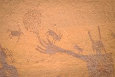 In the Maze in Canyonlands you will find some truly incredible ancient art.