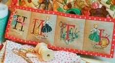 Накидка-органайзер для швейной машинки  #рукоделие #хобби #хендмейд #шитье