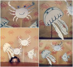 DIY Sea Life Puppet Show
