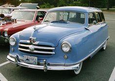 '52 Nash Rambler blue wagon