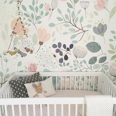 Heaven in a nursery. Love this @brittbarkwell #modernnursery #Toronto #dream #style #littleauggie #love #home #joy #nursery