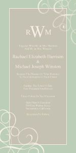 Mixbook Swirl Accents Wedding Invitations 1 79