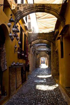 Old town, Rhodes  Greece Art & Architecture