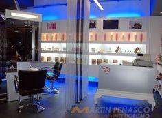 Decorating a hairdresser's shop with Kriskadecor #curtains. #design