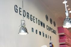 Down the street from Emerson Collection is....Georgetown Cupcake Newbury!