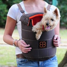 Lenis Pack Small Dog Backpack: $ 41.99. Take your small dog on a hike in the woods or a walk around town with this stylish Lenis Pack. Designed by award-winning designer, Emanuele Bianchi. It's a great way to go on walks that are a bit too long for your little dog's legs.