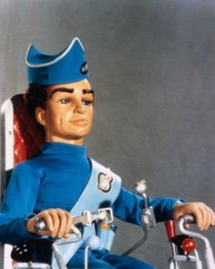 I know, but we love him - Thunderbirds. Scott Tracy, pilot of Thunderbird one. All the Tracy brothers were named after American astronauts, in this case Scott Carpenter. Old Tv Shows, Kids Shows, Joe 90, Thunderbirds Are Go, Cult, Film D'animation, Vintage Tv, Classic Tv, Best Tv