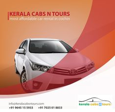 Kerala Car rentals by Kerala Cabs N Tours provide you cars from luxury class to normal cabs for rental purpose in Kochi, Kerala. Best Car Rental, Car Rental Company, Kerala, Cochin, Munnar, Professional Services, Tours, Customer Service, Temple