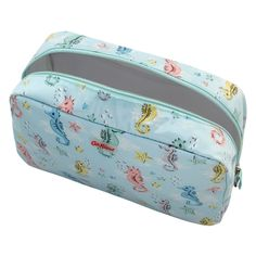 Small Seahorses Classic Box Wash Bag | View All | CathKidston Beach Holiday, Wash Bags, Beautiful Bags, Diaper Bag, Seahorses, Purses, Box, Classic, Gifts
