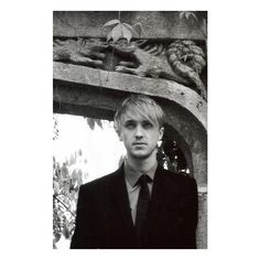 Harry Potter ❤ liked on Polyvore featuring tom felton, harry potter, hp, men and people
