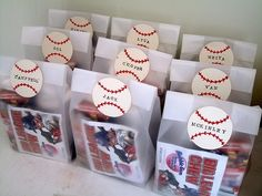 Goody Bag Ideas for Men | Baseball Goodie Bag Ideas