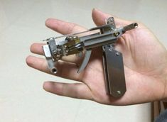 DIY Gadgets - Micro BB Crossbow - Homemade Gadget Ideas and Projects for Men, Women, Teens and Kids - Steampunk Inventions, How To Build Easy Electronics, Cool Spy Gear and Do It Yourself Tech Toys Mens Gadgets, Cool Tech Gadgets, Diy Tech, Tech Hacks, Survival Equipment, Survival Prepping, Diy Electronics, Electronics Projects, Cool Diy