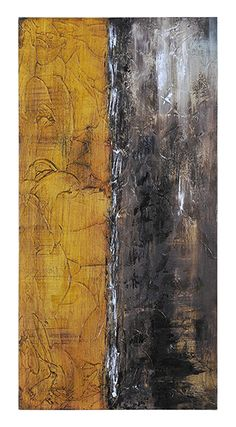 This hand-painted highly textured abstract features a warm yellow sun over a rich brown horizon. Metal Wall Art, Canvas Wall Art, Neutral Art, Furniture Boutique, Contemporary Abstract Art, Art Of Living, Accent Furniture, Decoration, Framed Artwork