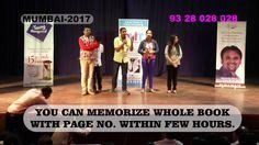 On The Sport Demo After MAgic Of Memory Training By Vatsal Vasa Mumbai 2017