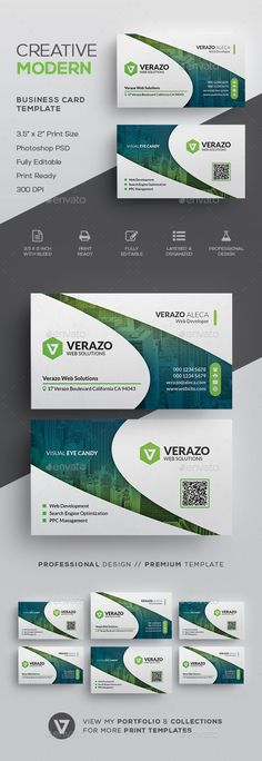 Clean Modern Corporate Business Card Template by verazo Need more high quality business card? View my Business Card Templates Collection OR Save Money! Buy Business Card Bundle for only High Quality Business Cards, Buy Business Cards, Cleaning Business Cards, Unique Business Cards, Corporate Business, Professional Business Cards, Corporate Design, Business Design, Creative Business