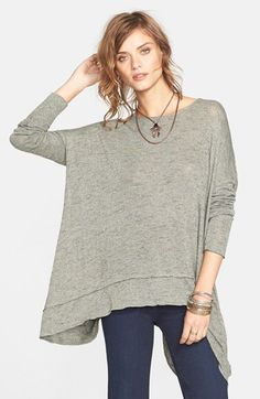Free People Shadow Hacci Top available at #Nordstrom
