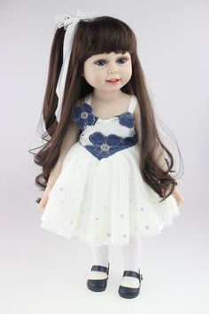 "18"" Girl Doll , Handmade, Collectible American Girl"