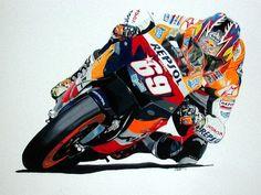 Racing Cafè: Motorcycle Art - Jason Watt