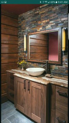 31 Gorgeous Rustic Bathroom Decor Ideas to Try at Home | Concrete ...