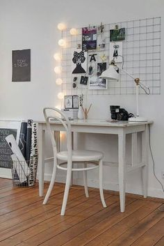 Work space art studio home decor, room decor, apartment deco Apartment Decorating On A Budget, Interior Decorating, Decorating Ideas, Apartment Ideas, Sweet Home, Diy Casa, Home And Deco, My New Room, Office Decor