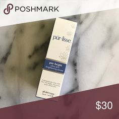 Pur~lisse pur~bright ultra skin brightening serum Serum to brighten dark spots and discoloration pur~lisse Makeup