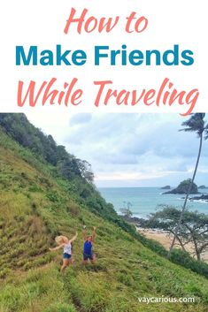 It's hard enough to make friends as an adult. It can be even harder when you travel. Beautiful destinations are even better with a friend. Here are some tips to make solo travel a little less lonely. How to Make Friends While Traveling. http://vaycarious.com/2017/01/14/travel-friends/