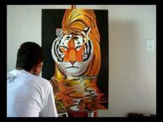 # Pintando um Tigre