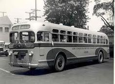 "The GMC ""Old Look"" bus was first made in 1940 and was phased out when the ""New Look"" buses arrived in 1959."