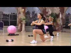 Cathe Friedrich's Great Glutes lower body workout video - Cathe Friedrich