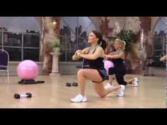 Cathe Friedrich's Great Glutes lower body workout video - Cathe Friedrich
