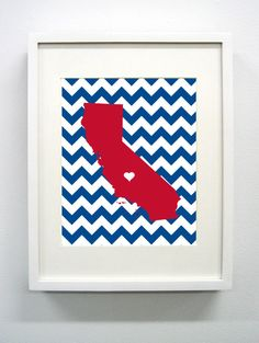 Love this! Just ordered for my new office :) Fresno State Represent!!! Fresno State University Giclée Print  8x10  Go by PaintedPost, $14.00