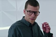 Jesse Eisenberg wearing Persol PO9649V glasses in Now You See Me 2   SelectSpecs.com