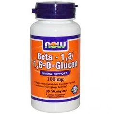 Now Foods, Beta-1,3/1,6-D-Glucan, 100 Mg, 90 Vcaps, Diet Suplements 蛇