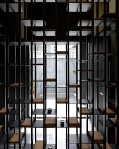 The Vertical Forest / Waterfrom Design Interior Screen Detail Partition Screen, Divider Screen, Partition Design, Shelf Design, Wall Design, Deco Design, Architecture Details, Interior Architecture, Vertical Forest