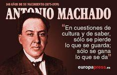 Aniversario de Antonio Machado: algunos de sus mejores versos para recordarle