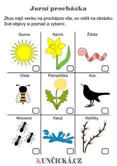 Jarní Play-Dough šablony k dozdobení - Kuncicka. Nature Activities, Spring Activities, Preschool Activities, English Primary School, Teaching English, Spring Projects, Spring Crafts, Kindergarten, Spring Flowers