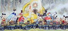 人参王国 kingdom of ginseng / paper cut/ Chinese cartoon / Cartoon