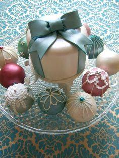 For Austin - predicate logic symbols on cake balls; kant pun on big cake