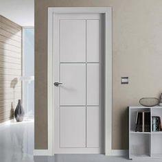 """The beautiful prefinished San Rafael Lacada 939 FD30 Fire Door with """"D"""" groove designs. #firedoor #directdoors"""