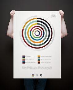 dulux colour awards poster by josip kelava via behance #poster #colour #josipkelava #melbourne #dulux